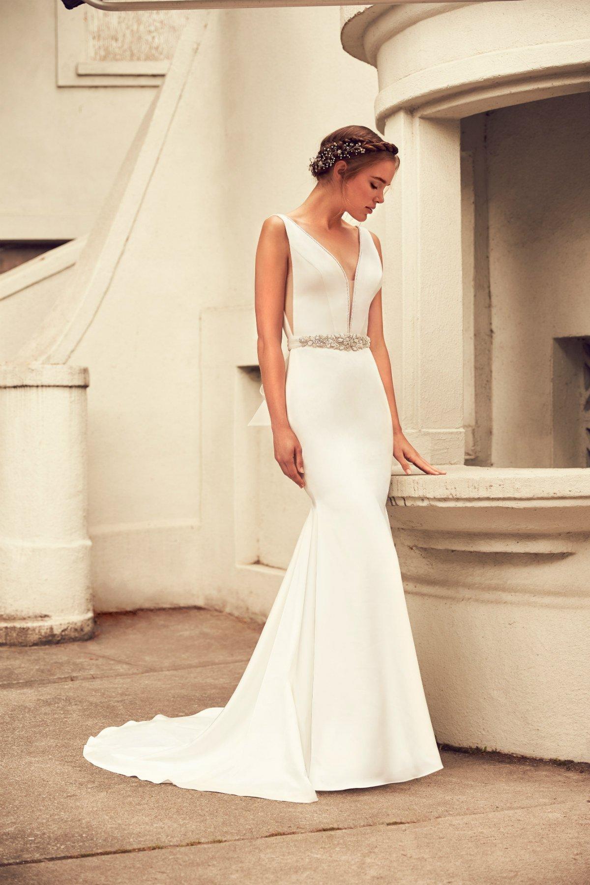 Paloma Blanca 4796 Helena Fortley Bridal Boutique
