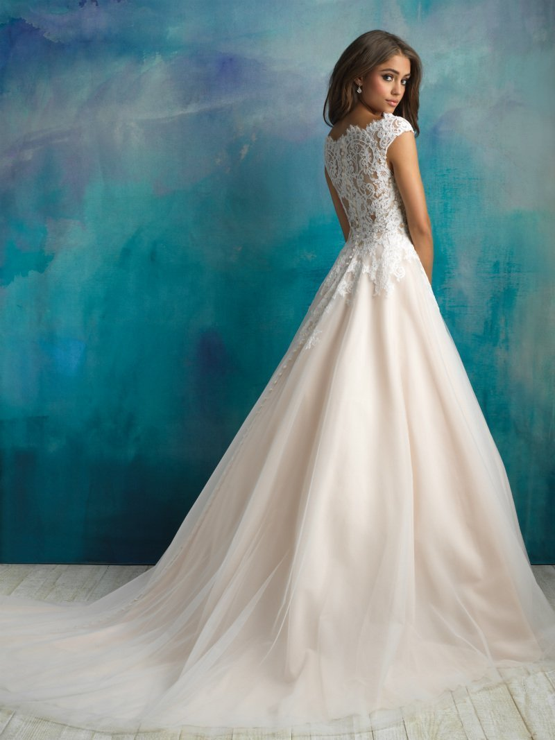 Allure 9520 Helena Fortley Bridal Boutique